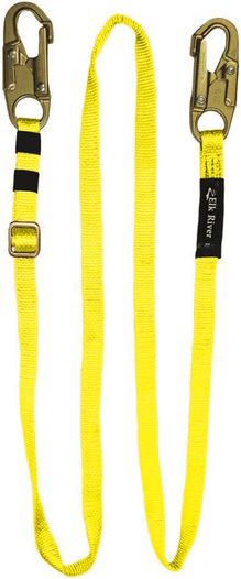 3600 lbs Gate 2-1//4 Gate Opening Elk River 17426 FallRated Steel Carabiner with Auto Twist-Lock and Pin