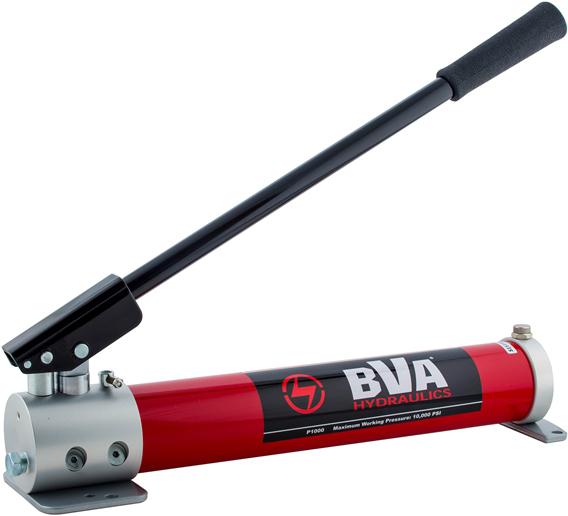BVA-Hydraulics 30 Ton Side Pump Manual BVA HYDRAULICS J10300 Bottle Jack