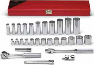 "Wright Tool 61-33MM 3//4/"" Drive 12 Point Standard Metric Socket 33mm"