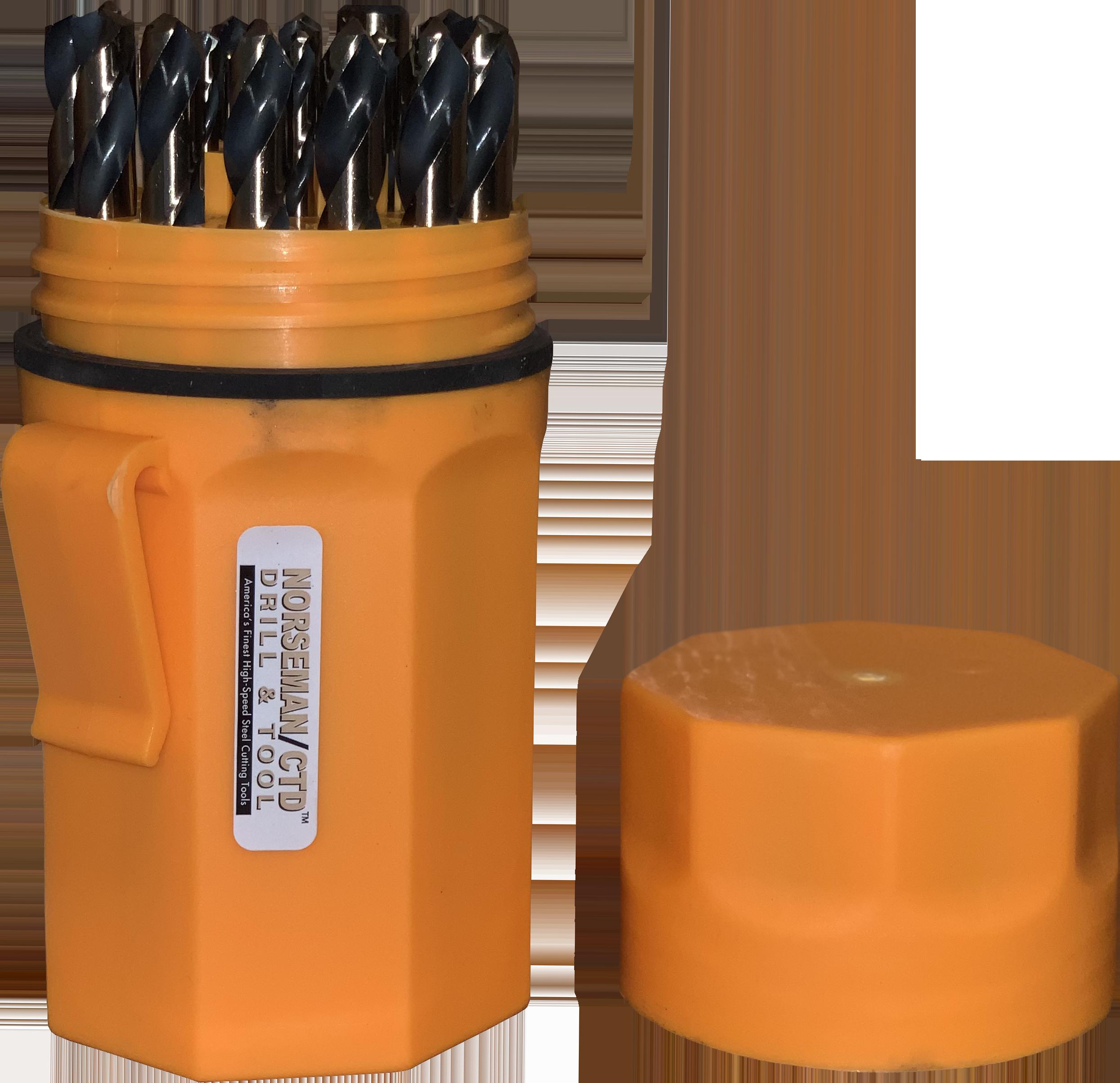 29 Pcs Super-Premium Drill Bit Index Ultradex Case CTD//Norseman SP-29P